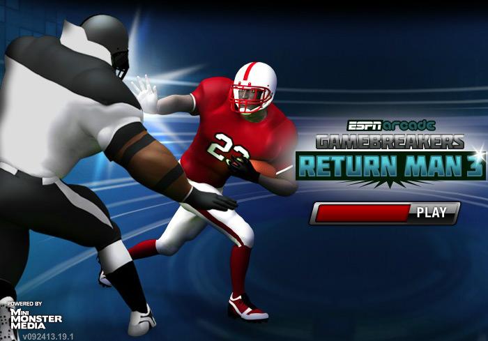 Play Return Man 3 – American Football In Action